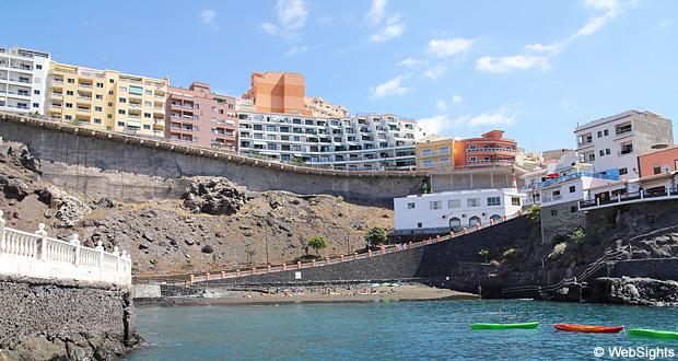 Puerto de santiago ferieby og strand tenerife guide - Puerto santiago tenerife mapa ...
